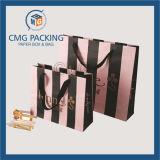 Mooie Aangepaste Strepen Afgedrukte Kosmetische Zak Packging (cmg-mei-033)