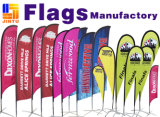 Kundenspezifische Fahnen-Strand-Markierungsfahnen/Teardropbanner Flags/Beach Markierungsfahnen-Drucken (JTAMY-2015111315)