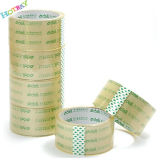 Изготовленный на заказ логос напечатал ясную ленту запечатывания коробки BOPP