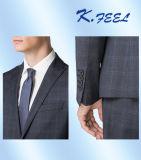Mens-Wolle-Mischungs-Spitzen-Revers-Hochzeits-Klagen