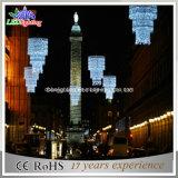 Luzes de rua decorativas do candelabro do Natal ao ar livre impermeável do diodo emissor de luz