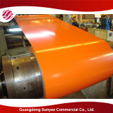 Bobina d'acciaio galvanizzata tuffata calda PPGL/PPGI di prezzi dell'edilizia della struttura d'acciaio