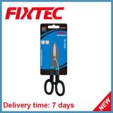 """Fixtec 10 """" 탄소 강철 PVC 손잡이 주석 가위질 손 공구"""