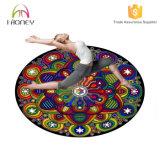 De ronde Mat van de Yoga Speciaal voor Kussens 5mm van de Meditatie Dikte