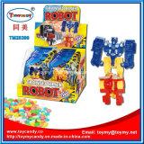 Конфета игрушки робота трансформатора следа робота игрушки