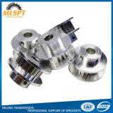 Puleggia di alluminio della cinghia di sincronizzazione di alta precisione per le parti del trasporto di energia