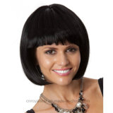 형식 소녀 Bobo 자연적인 머리 다루기 쉬운 머리 가발 1/2 가발