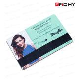 Carte principale d'IDENTIFICATION RF de carte d'IDENTIFICATION RF de PVC de la qualité 13.56MHz