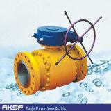 O aço forjado/moldou a válvula de esfera pneumática do eixo de Iron/Ss