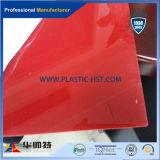 Feuille solide de feuille creuse de polycarbonate/feuille ondulée gravée en relief de feuille