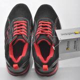 Comfortabele Schoenen l-7034 van de Veiligheid van Jogger van het Leer van het Suède