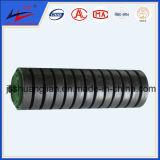 Rodillo del transportador del disco de goma Rodillo del impacto del caucho aprobado ISO 9000