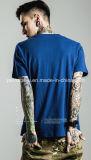 新式の粗紡糸の綿メンズ通りの印刷のTシャツ