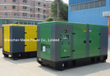 pabellón silencioso del generador diesel de la potencia espera de 220kVA 176kw