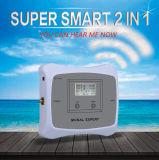 Répéteur mobile à deux bandes de signal de GM/M 3G 4G de servocommande du signal 850/Aws1700/2100MHz