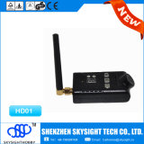 Bon émetteur radio Price pour The Sky-HD01 Aio 400MW 32CH Fpv Wireless Transmitter et 1080P HD Camera