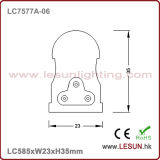 Alta calidad 9W ninguna luz oscura LC7577A-06 del tubo del área LED T5