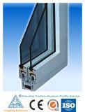 Windowsおよびドアのための6063 T5アルミニウムプロフィール