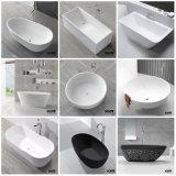 Ванна отделки Matt составная каменная твердая поверхностная Freestanding (161103)