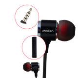 Subwoofer initial Earphones de Wired X34m Hifi Metal avec Microphone pour un téléphone mobile