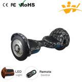 10inch E-Vespa de equilibrio del uno mismo eléctrico de la rueda del balance dos con Bluetooth