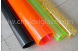 플라스틱 Tubes/LED 관 또는 Deocrative 관 또는 가벼운 관 또는 램프 관 또는 다채로운 관 단백석 관 백색 관 우유 백색 관