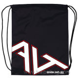 Nylon Promotional Drawstring Sports Backpack Gym Bag (HBDR-72)