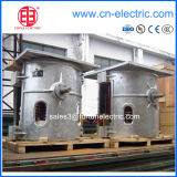 Steel/Iron Melting를 위한 알루미늄 Shell Coreless Medium Frequency Induction Melting Furnace