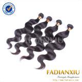 ボディ波の実質の人間の毛髪のWeftヨーロッパのバージンの毛