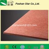 Tarjeta externa de la pared de la Tarjeta-Alta fuerza de la fachada del color del cemento de la fibra