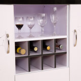 2016 Customized popular Wooden Wine Cabinet para a sala de visitas (FS-C014)