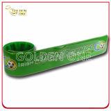 Wristband differente dello schiocco del silicone del reticolo del fumetto di prezzi di fabbrica