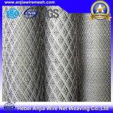 Lamiera di acciaio in espansione rivestita di plastica del metallo del PVC per il materiale da costruzione