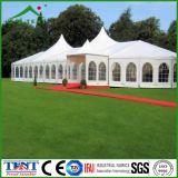 Высокое качество способа совместило шатер шатра шатра случая свадебного банкета сформированный смешиванием специальной сформированный звездой