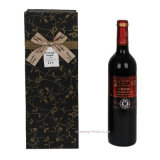 Изготовленный на заказ Printed Paper Wine Gift Packing Box с Ribbon