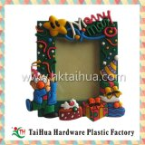 Marco atractivo de encargo de la foto del cuadro de la resina multicolora plástica suave respetuosa del medio ambiente del PVC