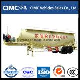 Cimc 3 차축 45m3 시멘트 Bulker 트레일러