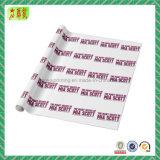 Упаковочная бумага ткани одежды с напечатанным логосом