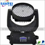 108X3w RGBW LED de cabeza móvil Etapa de iluminación