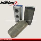 Trapèze de L135mm Fickert de meulage en pierre pour le polonais approximatif de brame de granit