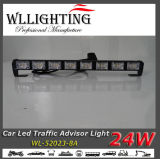 LED Warning Light, Car Signal Light Bar Amber 또는 White