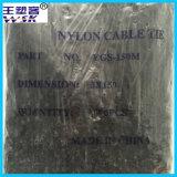 Guangzhou-Kabelbinder-Fertigung Soem-Großhandels-Nylonkabelbinder PA66 mit freier Probe
