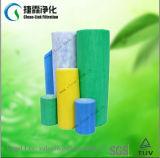 Blu bianco del sistema di HVAC/colore giallo/rullo verde del filtrante della presa d'aria