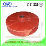 インペラーの耐久力のある物質的なスラリーポンプ