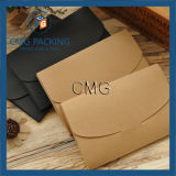 Sobre negro de sellado caliente ULTRAVIOLETA negro de lujo (CMG-ENV-005)