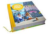 専門家は小冊子またはパンフレットの印刷の本の印刷をカスタマイズする