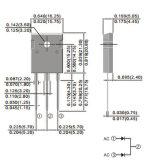 Componente electrónico del diodo de rectificador de Schottky de la potencia para la asamblea del PWB