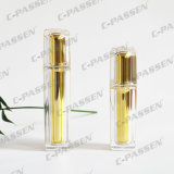 Garrafa de creme de cristal de ouro acrílico de 50g para embalagem cosmética (PPC-NEW-009)