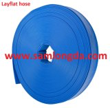 """1 """" - """" boyau de Layflat de débit de l'eau de PVC 14 pour l'irrigation et les pompes à eau"""