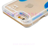 SamsungまたはiPhoneのための携帯電話の箱を滴らせる黄色いアヒルオイル